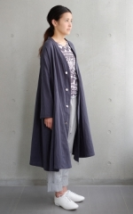 mibashou shirts -smoky navy-