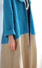 CUBY LINEN -coat-